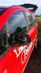 Car minus mirror cover