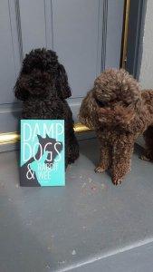 SADIE & VIOLET - they think this book's BIIIIG!